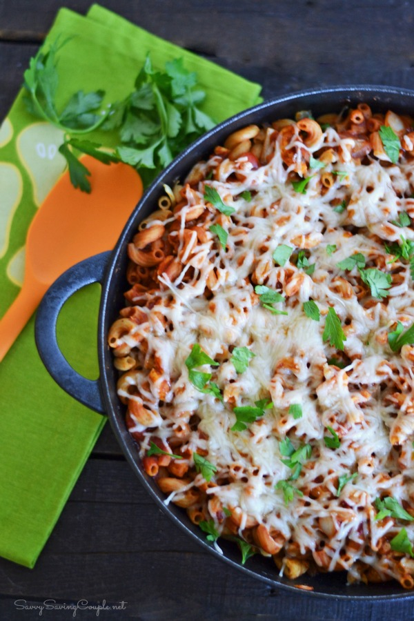 Sloppy-joe-pasta-skillet