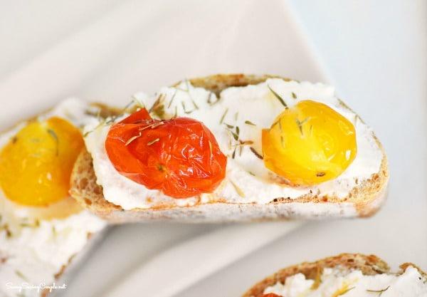 Tomato-toasts