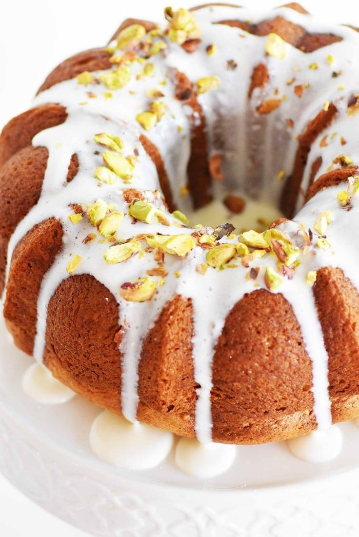 Pistachio Bundt Cake Recipe 1