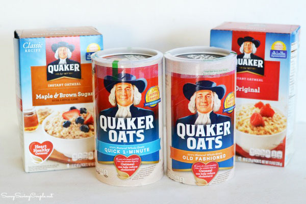 Quaker-Oatmeal-products