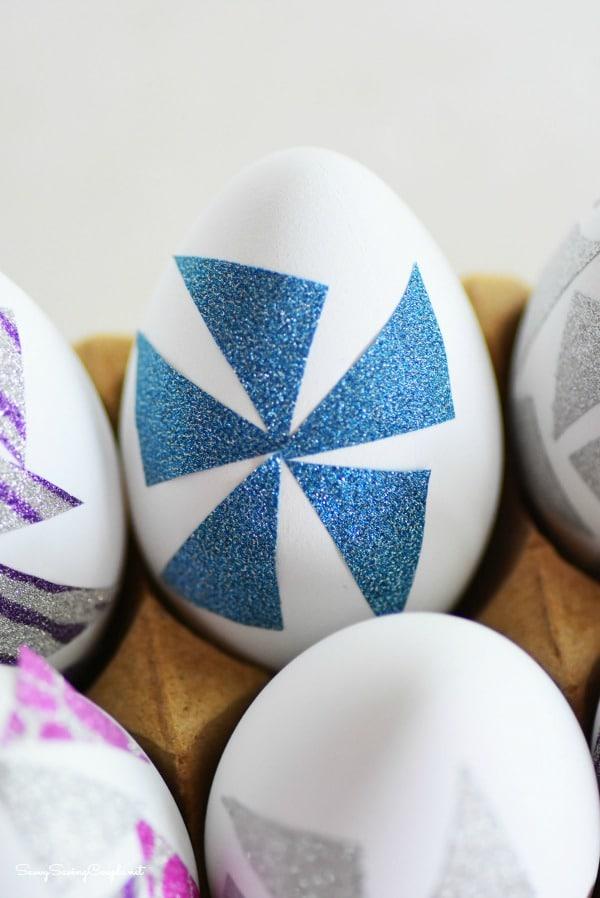 Washi-flower-egg
