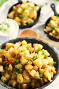 Delicious Garlic Home Fries Recipe