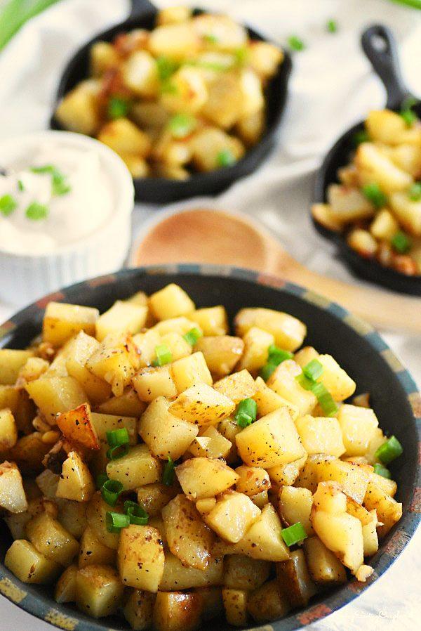 Delicious Garlic Home Fries Recipe