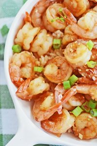 Quick Honey Lime Shrimp