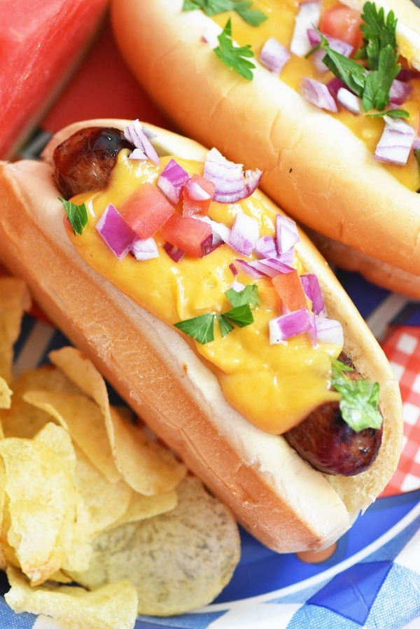 Beer-Cheese-Brats