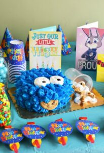 Cookies & Candy Kid's Birthday Party