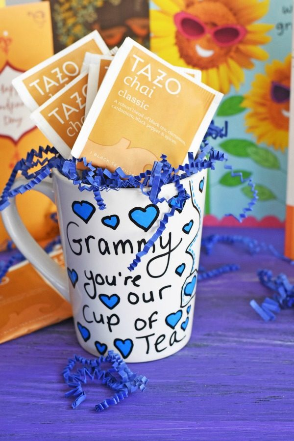 Grandparent's Day DIY Painted Tea Mug