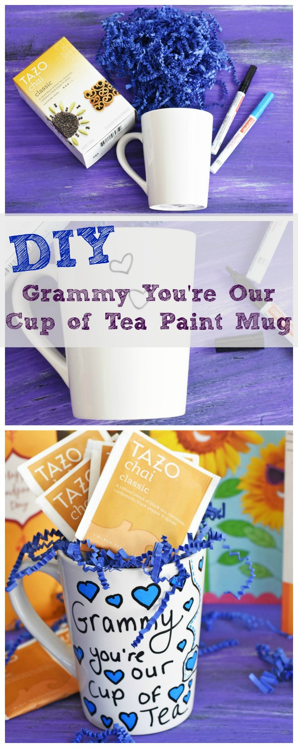 Grandparent S Day Diy Painted Tea Mug Savvy Saving Couple
