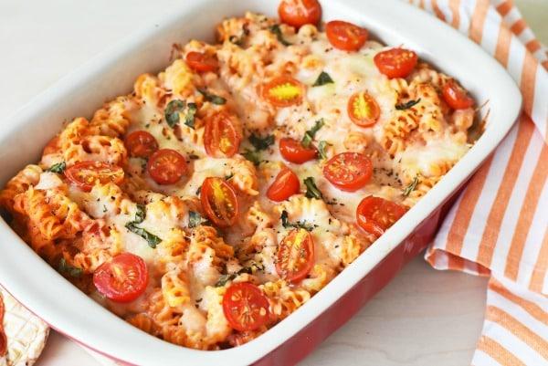 margerita-pasta-baked