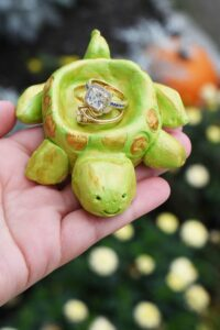 DIY Turtle Ring Holder Made with Pottery Cool