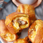 Sausage, Egg and Cheese Breakfast Bombs