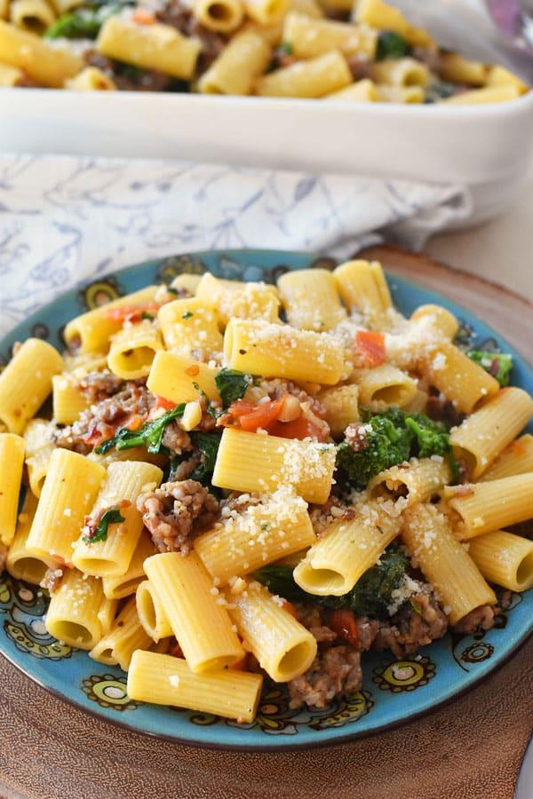 sausage-pasta-dish
