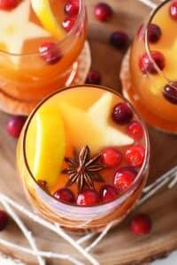 Mulled Orange-Spiced Apple Cider