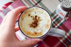 Make an Eggnog Latte at Home