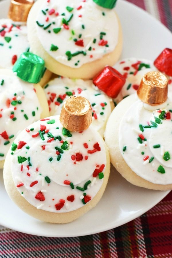 5 Minute Ornament Cookies DIY