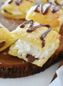 chocolate-cream-puffs