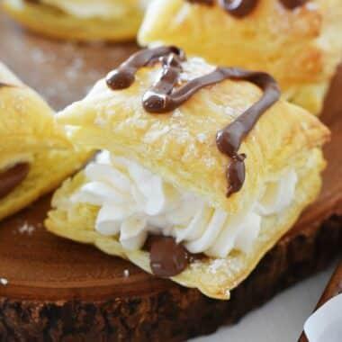 chocolate-cream-puffs