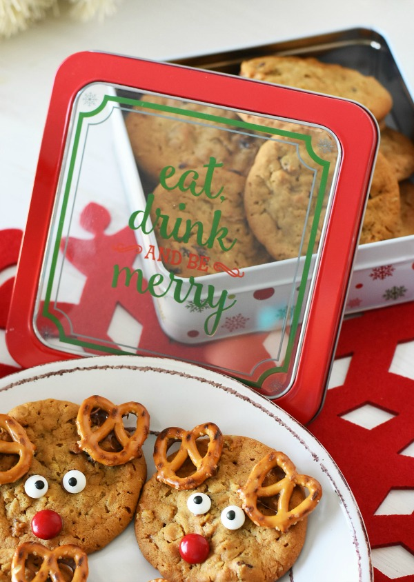 Easy Reindeer Cookies Holiday Entertaining Ideas
