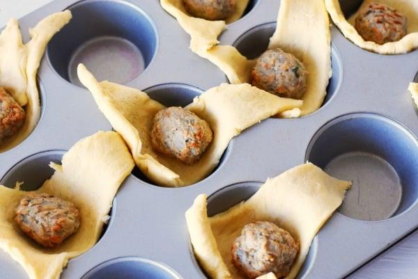 chicken-meatball-crescents-dough