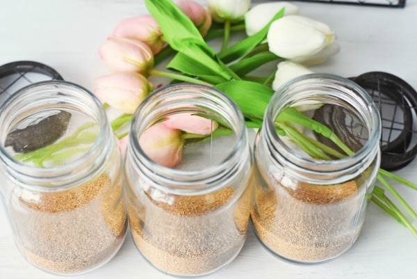 Flower-pot-mason-jar-craft