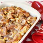 French Toast Casserole with Cinnamon Glaze1