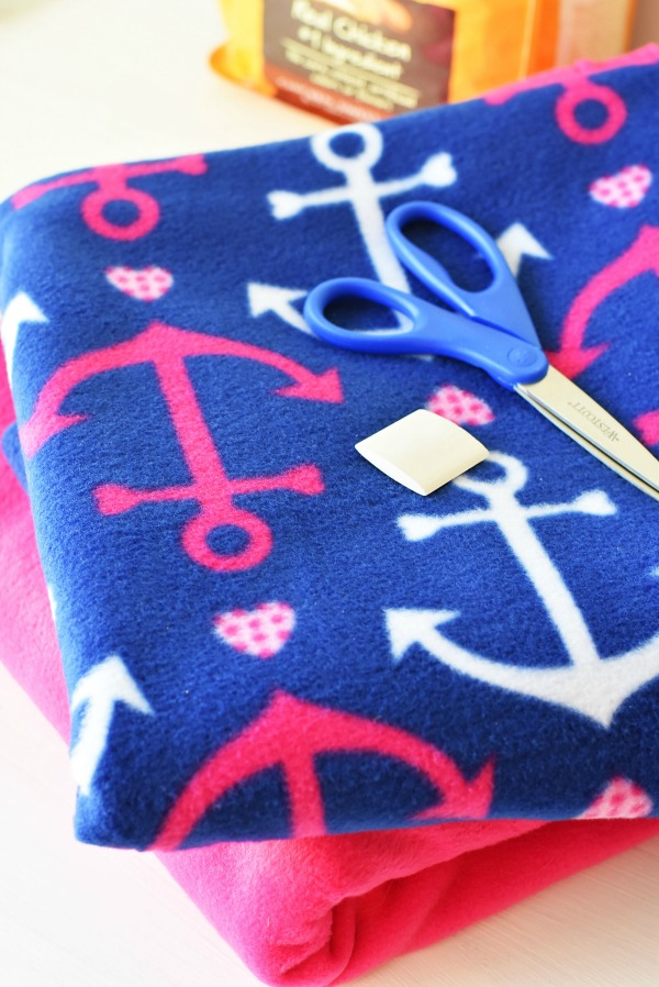 Anchor Fleece Print