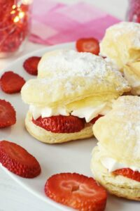 Strawberry Cream Puffs & Date Night in Ideas