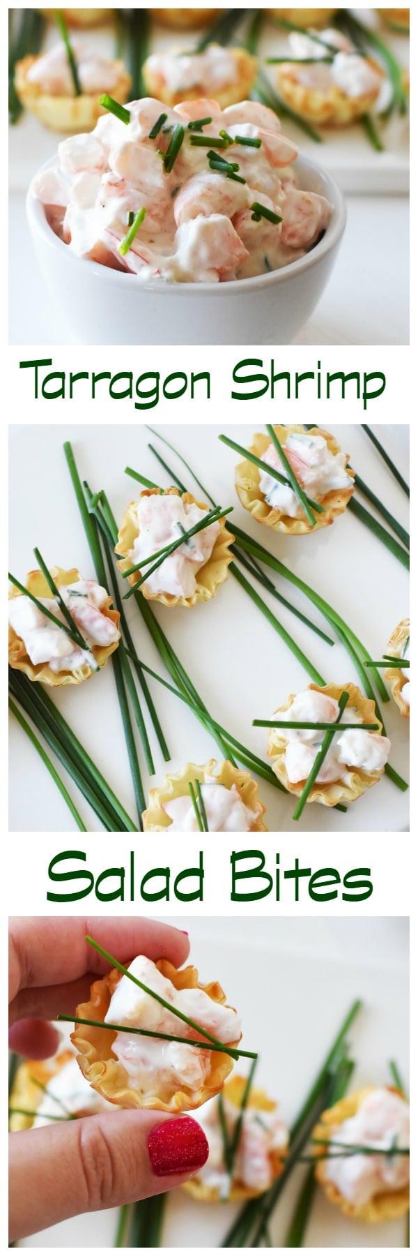 Tarragon-shrimp-salad-bites