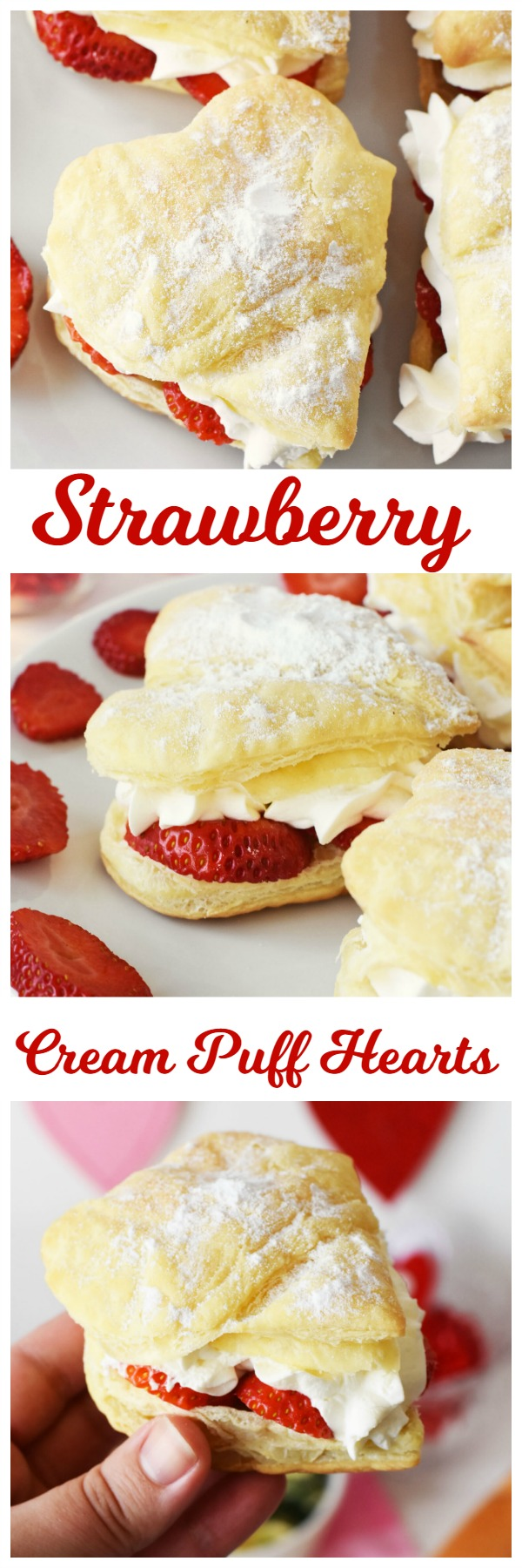 Strawberry Cream Puffs & Date Night in Ideas. Get this easy to make decadent strawberry cream dessert which features flaky puff pastry.