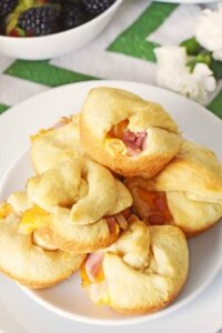 Ham Egg Cheese Crescent Bombs