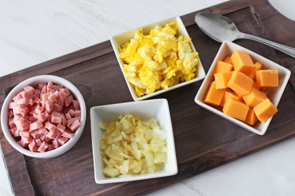 Ham Egg Cheese Crescent Ingredients