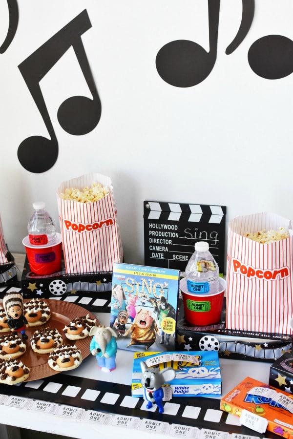 Sing Movie Party Idea