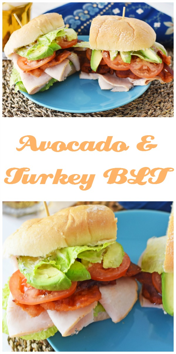 Avocado and Turkey BLT Pin