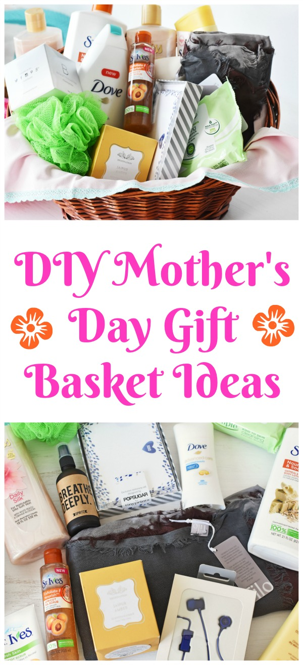 DIY Mother's Day Gift Basket Filler Ideas- Mother's Day is right around the corner! Check out the best gift basket fillers for the best mom-approved basket! #AD