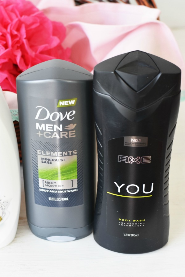 Dove Men + Care and Axe You