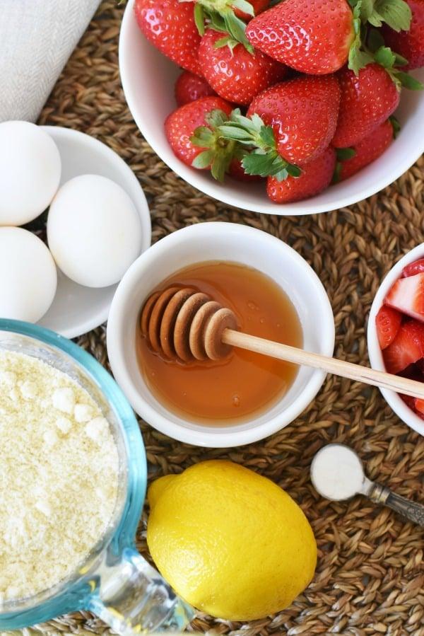 Gluten Free Strawberry Muffins1