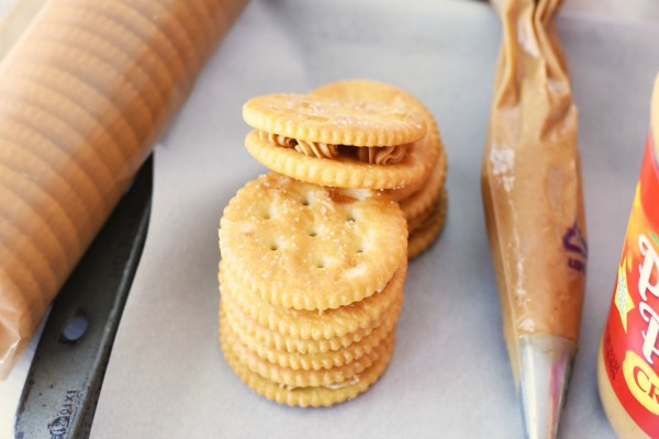 Ritz with Peanut Butter