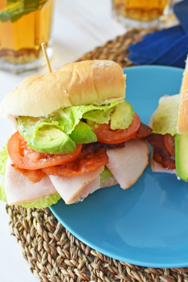 Turkey Avocado BLT Sandwich1