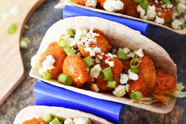 Blue cheese and Shrimp taco1