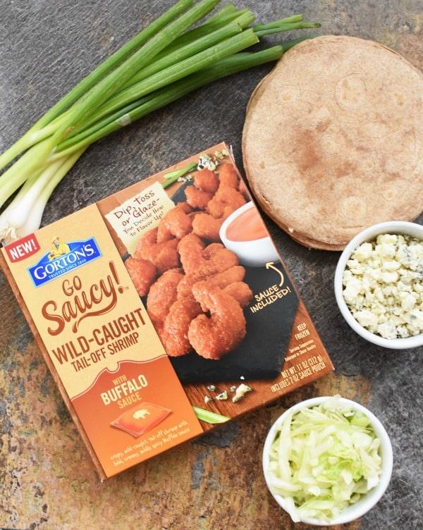 Buffalo Shrimp Taco ingredients1