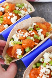 Quick and Tasty Buffalo Shrimp Tacos