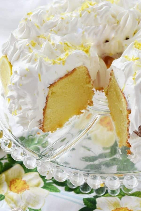 Frosted Lemon Chiffon Cake1