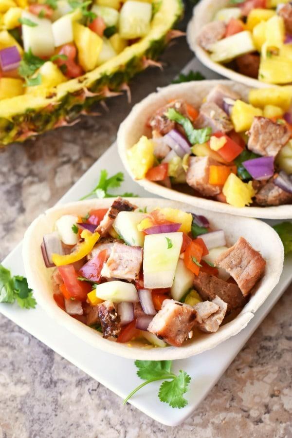Grilled Pork Pineapple tacos1