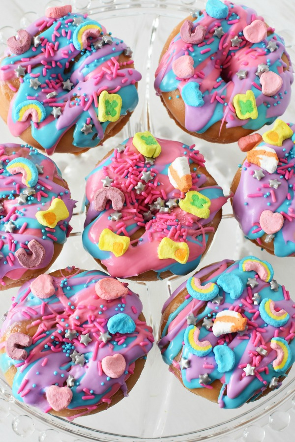 Half a Dozen Unicorn Donuts1