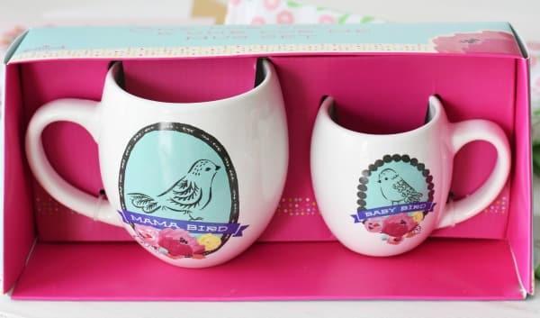 Hallmark Mama Bird cups