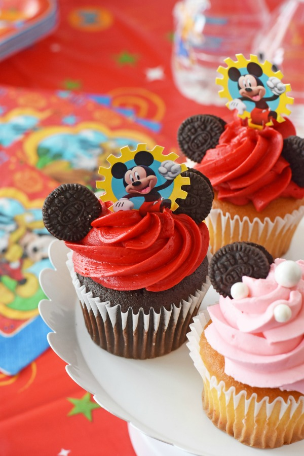 Mickey Mouse Clubhouse Cupcakes1