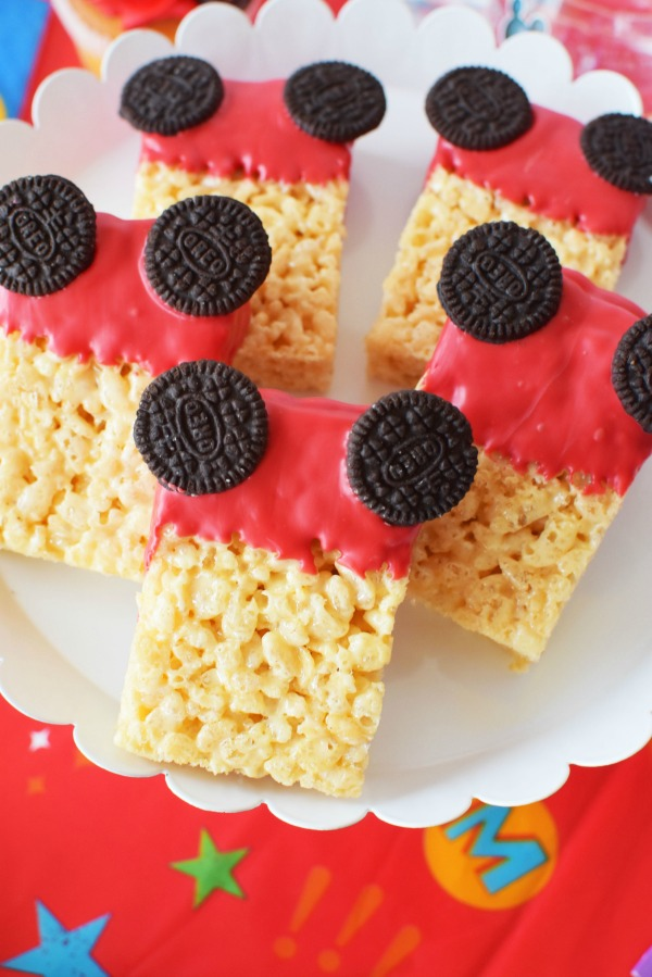 Mickey Rice Krispie Treats1