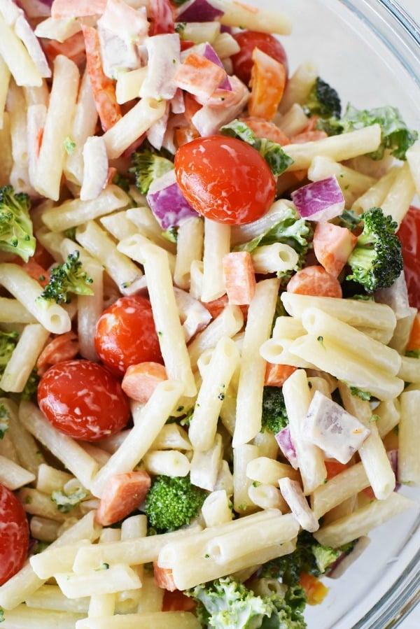 Quinoa Pasta Salad