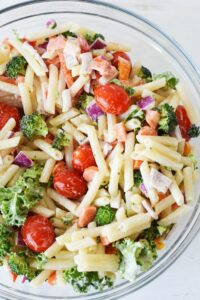 Quinoa Vegetable Pasta Salad