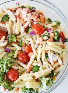 Quinoa Vegetable Pasta Salad